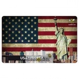 Sticker Carte bleu USA Liberty