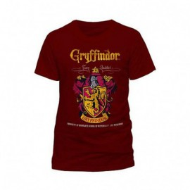 TShirt Harry Potter Quidditch Gryffondor