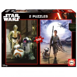PUZZLE 500 PIECES STAR WARS EPISODE 7