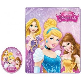 Couverture Polaire Princesses disney
