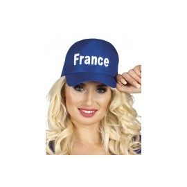 Casquette Bleu Supporter France