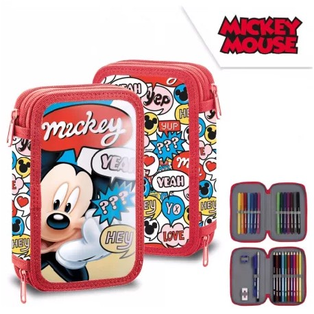 Trousse Mickey 2 compartiments