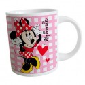 Mugs Minnie Rose et Rouge 27,5cl