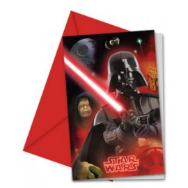 Cartes d'Invitation Star Wars