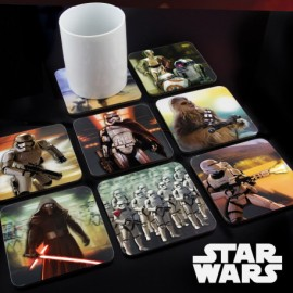 Lot de 8 sous-verres Star Wars