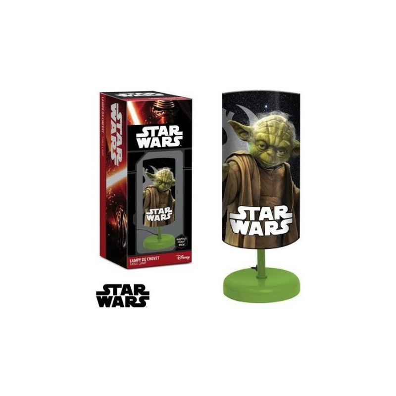 lampe de chevet yoda star wars. Black Bedroom Furniture Sets. Home Design Ideas