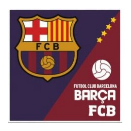 Coussin Logo FC Barcelone