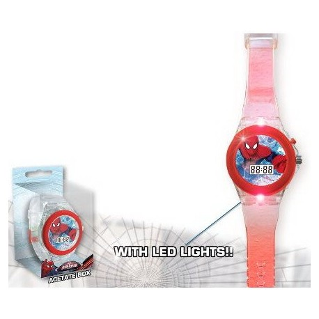Montre Digitale Led Spider-Man